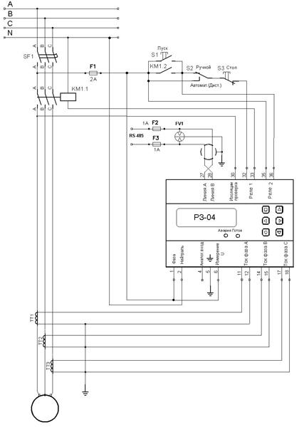 Рисунок 2 - Типовая схема